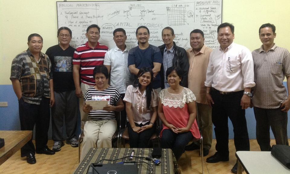 The ACLEAD Doctor of Ministry students in Occidental Mindoro