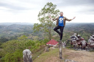 Matt Epp found harmony in Bukidnon (photo Kevin Becira)