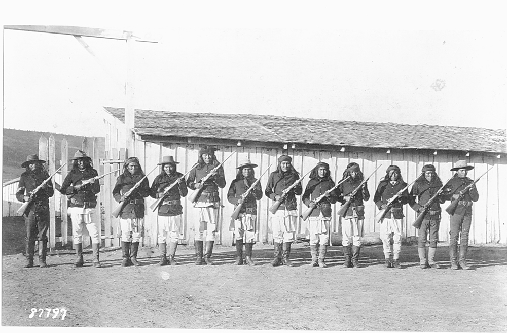 Apache Scouts source U.S. National Archives