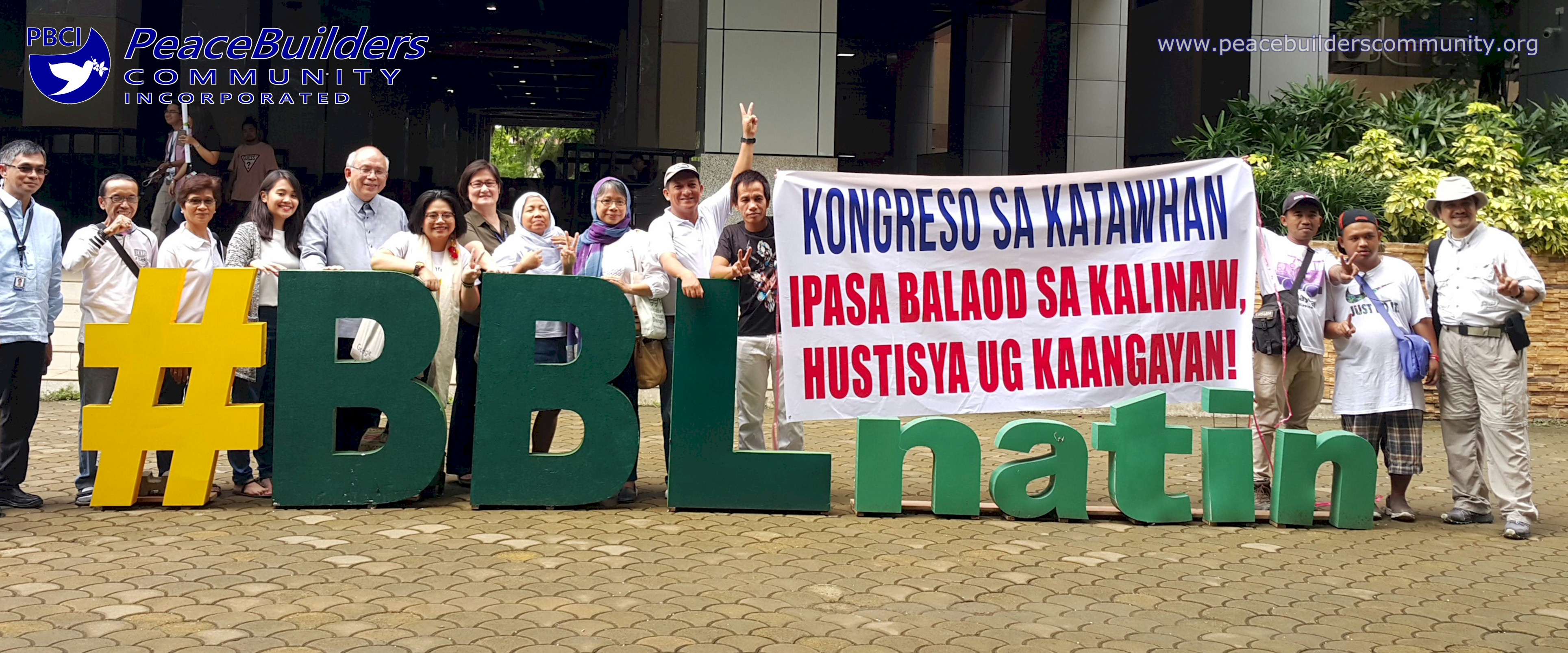 ALL-OUT PEACE NETWORK SUBMITS LETTER OF SUPPORT FOR BBL