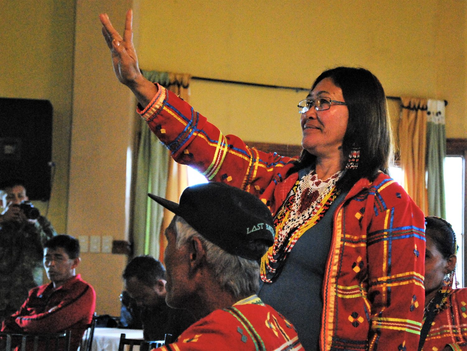 WOMEN LEADERS FROM UNITED IP COMMUNITIES ORGANIZE PEACE FORUM