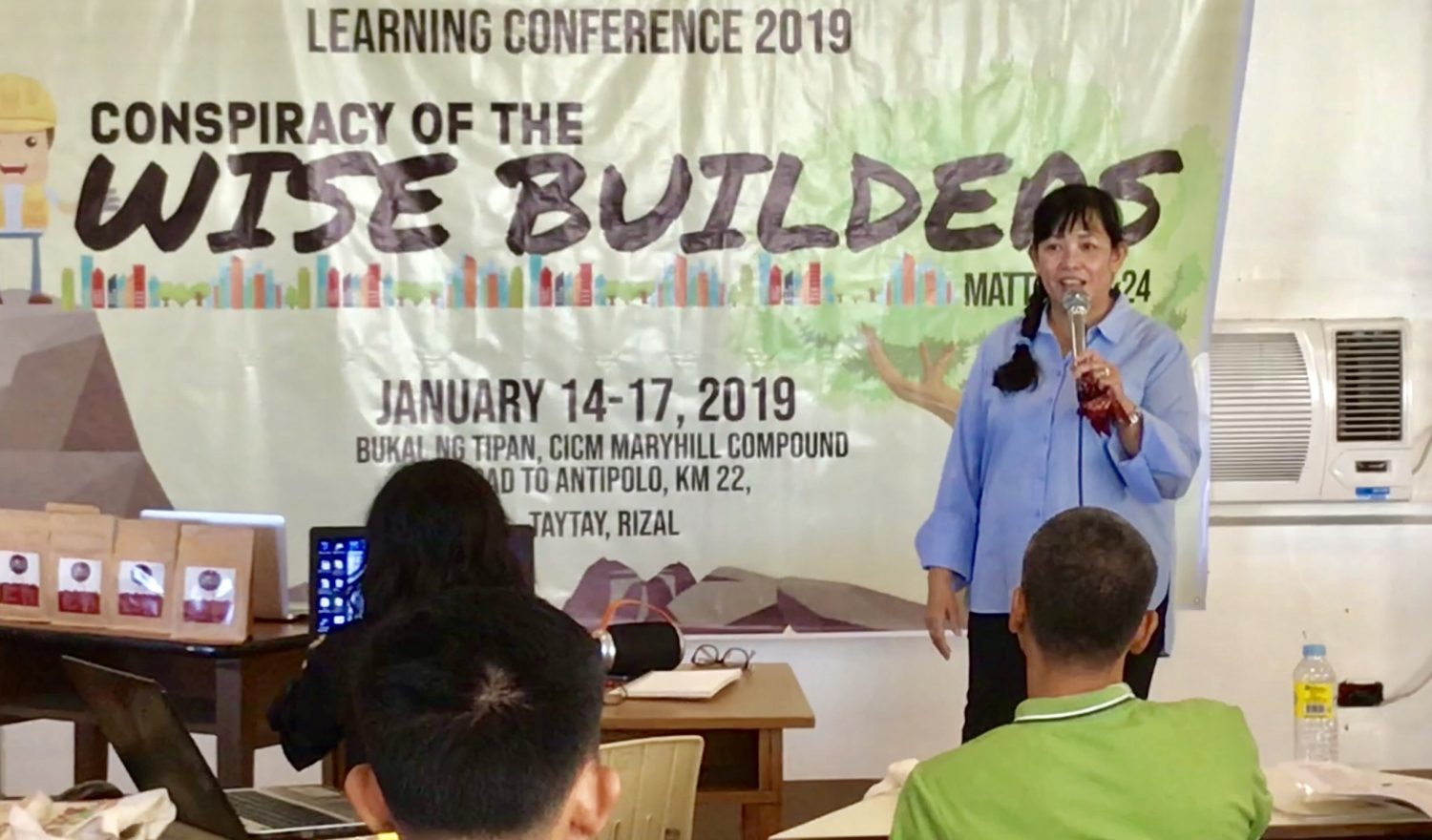 JOJI SERVES AS PLENARY SPEAKER AT THE 2019 LEARNING CONFERENCE